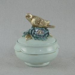 鳥のクラフトのPolyresinの宝石箱