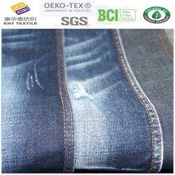 Tessuto puro 7*7 59/60 del denim del cotone tessuti di tessitura delle 14 once per i jeans