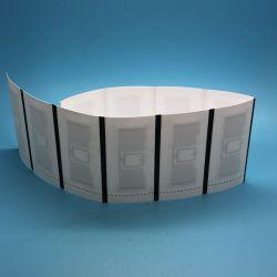 의복 부속품을%s 방수 RFID 세척 배려 레이블을 인쇄하는 관례