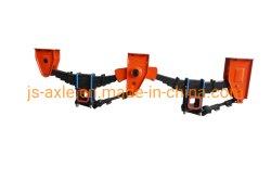 Suspension mécanique 55ton système de suspension de la suspension de la direction de la remorque de camion pour la vente