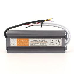 시닉 조명/실외 모니터링/빌보드를 위한 12V/24V/36V 120W LED 변압기 전원 공급 장치