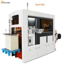 Quadratische untere Papierbeutel-Maschine, Nahrungsmittelbeutel-Maschine, Getränkebeutel stellen Maschine Yast-950 her