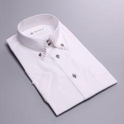 No-Iron Dobby formele Long Sleeve jurk mannen shirts OEM China Fabriek