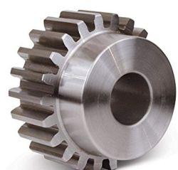 Trasmissione di potenza industria Mod 1 21 denti 23mm D.E. ingranaggio in acciaio passo metrico