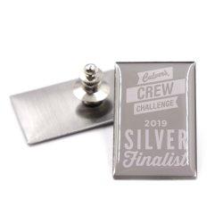 Metal personalizados/Soft esmalte dura do fecho da borboleta de pino de lapela Polícia Militar//Monograma Colar/Pino/Esmalte Pin de lapela