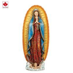 Billiger Verkauf Unsere Dame von Guadalupe Figur auf der Basis, Renaissance Sammlung, Religiöse Geschenk, Dekoration