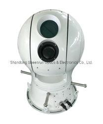 Camera van de Visie van de Nacht van de Thermische Weergave van Pantilt de Elektro-optische Infrarode IP van de bal