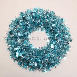 Pet Navidad guirnaldas guirnaldas Corona para unas vacaciones Boda decoración regalos artesanías adorno gancho suministros