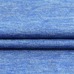 L'Étirement de mélange personnalisé 61%nylon 31%8%spandex polyester tricotage de trame du tissu ordinaire pour les vêtements/Sportswear/usure de Yoga/Leggings