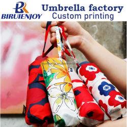 Япония Camellia дамы Mini 5 складная Pocket зонтик