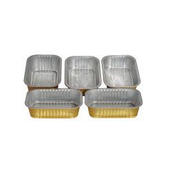 環境に優しく安いアルミホイルの食糧容器の包装の皿