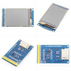 2.4 LCD van de Aanraking van de Duim de Weerstand biedende Parallelle Interface met 16 bits van de Module Ili9341 van de Raad van de Bestuurder van het Scherm 8/16bit