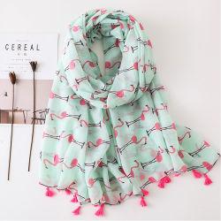 Le Hijab Châle coton Echarpes Pashmina pour teindre les femmes