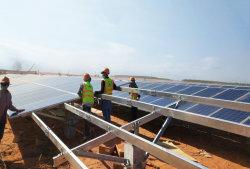 PVのSolar Energy土台システムは製品をかっこに入れる