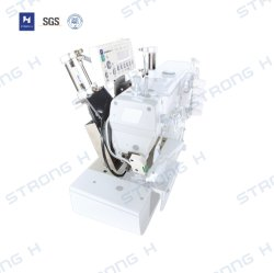 Dispositivo de corte de cinta automático para máquina de coser de bloqueo (pórtico)