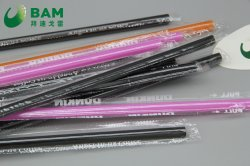 Coffee Drink Juice를 위한 Convenient 생물 분해성 Colorful Disposable Starbucks Coffee 높 온도 Resistance Plastic Straw