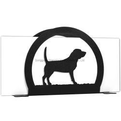 Supporto di carta a forma di animale del documento del supporto del tessuto dell'erogatore del metallo su ordinazione
