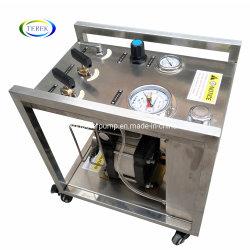Bewegliche pneumatische flüssige Druck-Förderpumpe-Hochdruckstation für Ventil-und Rohr-hydroprüfung