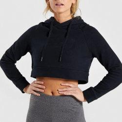Fabrication de gros manches longues élastiques pull Hoodie pull pour les femmes