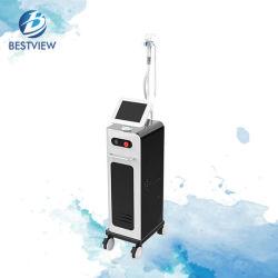 Vertikale 3 Wellenlänge Diode Laser Haarentfernung Maschine Beauty Equipment