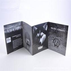 Yiwu Fábrica Design Personalizado revestidos de pasta Catálogo de papel de impressão