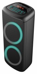 2020년 싸고 새로운 더블 10인치 Eden Bluetooth PA 고출력 80W, 아름다운 LED 조명이 있는 개인 휴대용 패셔너블한 스피커