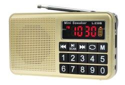 Мини радио FM L-238b с TF/USB/светодиодный дисплей