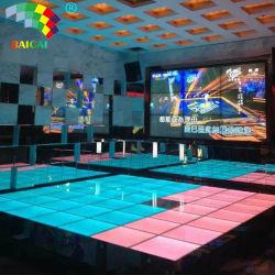إضاءة LED المرحلة 16 لون تغيير لون LED أرضية الرقص