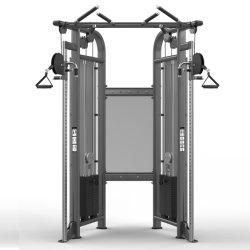 Corps de l'exercice double salle de gym de la machine de conditionnement physique de la poulie réglable