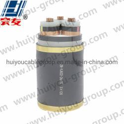 كبل سلك كهربائي PVC مع Sta / Swa 26/35kv 3*120m2 كبل طاقة مصفحة مزدوج الشريط الفولاذي