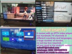 La Malaisie véritable HD Smart TV LED LCD numérique Digital Récepteur Satellite avec lecteur vidéo IPTV