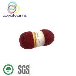Couleur de gros 80%20%coton fils de polyester mélangé Ly-C040