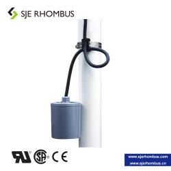 Interruptor de flotador de cable para controlar directamente la bomba de aguas residuales, 15A, 125 o 230 VAC