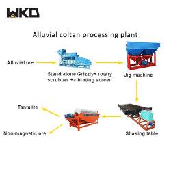 Tabela de agitação da gravidade da máquina de concentração para a planta de beneficiamento de minério de Wolfram