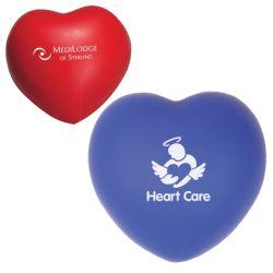Bola de estrés en forma de corazón Squeezable San Valentín.