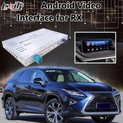 Androïde VideoInterface 7.1 van Lsailt voor de Controle Draadloze Carplay van de Muis van Lexus Rx 2013-2018 voor Rx200t Rx270 Rx450h Rx350