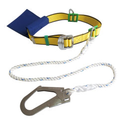 La moitié du corps de protection du faisceau de la sécurité de l'automne avec sac à outils