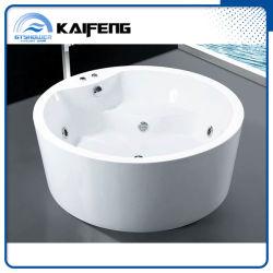 Раунда отдельно стоящая ванна джакузи джакузи, современные массажные ванны (KF-759-C)