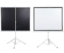 La pantalla de proyección trípode/proyector pantalla con precios competitivos (TS070)