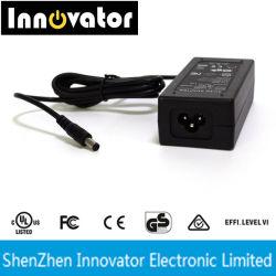 Ce UL SAA verklaarde Zwarte/Witte 12V 5A60W Universele AC gelijkstroom Adapter voor Laptop