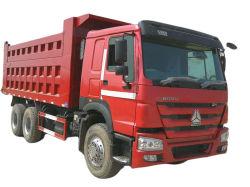 LHD/Rhd 건축을%s 팁 주는 사람 트럭 사용된 덤프 트럭 Sinotruck HOWO 6X4 10 바퀴 덤프 트럭