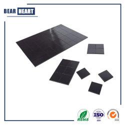 """Magneti flessibili 4/5 """" X 4/5 """" dei quadrati per le strisce adesive del nastro magnetico dei mestieri con protezione adesiva"""