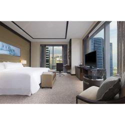 Einfache King-Size-Hotelzimmermöbel mit Kopfteil und TV-Standfuß