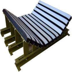 Förderanlagen-Auswirkung-Buffer-Bett für Bandförderer PU kombinierte mit materiellem Auswirkung-Gummistab für schweres