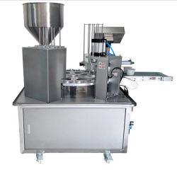 La cuvette de Fully-Pneumatic rotatif automatique Machine d'étanchéité de remplissage