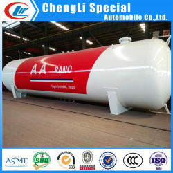 ASME 標準 60cbm /30 トン LPG / プロパン / ブタン貯蔵 / 調理用ガスタンク