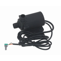 DC 24V Mini Micro Motor electromagnético de pecera que circula el agua de la bomba de anfibios