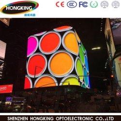 Energiesparender großer LED-Bildschirm im Freien farbenreiches P10