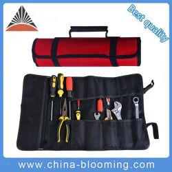 耐久性に優れた多機能ポリエステルロール工具バッグを簡単に持ち運べます