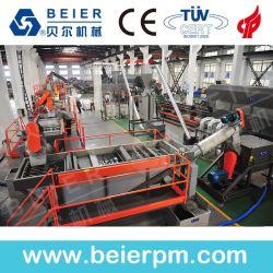 私達は機械を洗浄し、リサイクルする最も新しいプラスチックPet/PE/PP粉砕機の造粒機を提供する